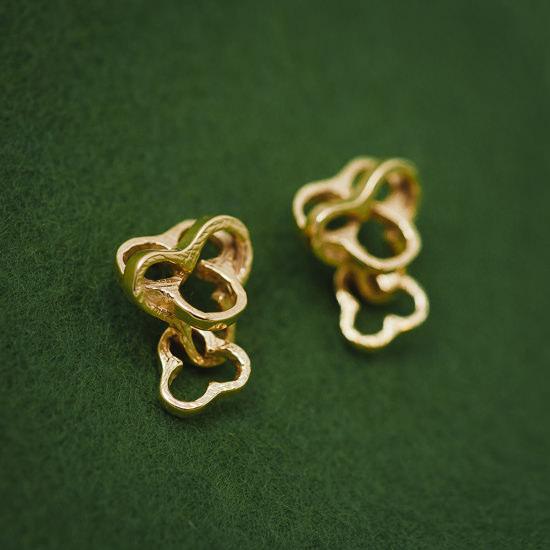 Paprika Mini Earrings Pierce Post Type Only